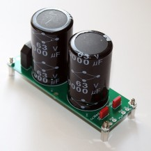 Dual Power Supply with 2 x 10,000uF 25v F&T Smoothing Capacitors